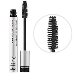 "Blinc Mascara Amplified -   #sephora  I LOVE this mascara.  It is the only mascara that does not end up under my eyes at the end of the day.  I use Benefit's ""the're real"" mascara and then use blinc on top of it."