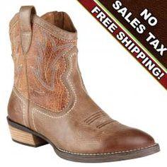 Ariat Billie Tan Cowboy Boot