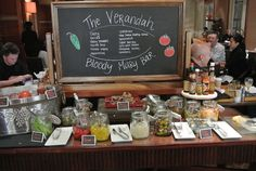 Bloody Mary Bar Setup | Reno'd Four Seasons Las Vegas means rooms where families can relax ...