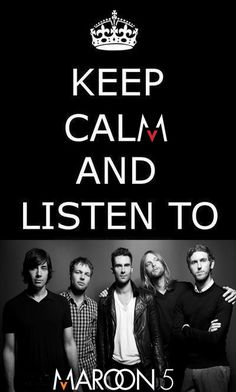 Love Maroon 5! One of my fav bands ever...
