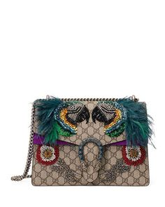 69d37267337 Gucci Dionysus Medium Parrot Shoulder Bag