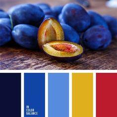 color palette - plum palette THIS color palate for kitchen? Colour Pallette, Colour Schemes, Color Patterns, Color Combos, Blue Palette, Color Concept, Color Balance, Design Seeds, Colour Board