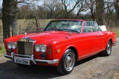 1975 Rolls Royce Corniche Convertible