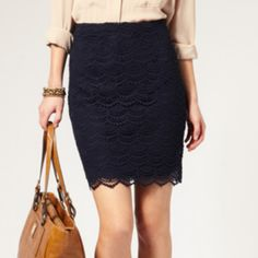 navy lace lust.