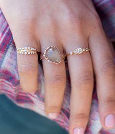 Pretty pastels, sapphires, and diamonds. Unique yet timeless pieces that set you apart.