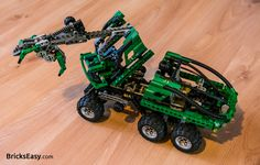 Lego Technic 8446 Crane Truck - set from 1999