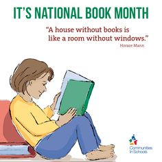 It's National Book Month - Happy reading from Communities In Schools!