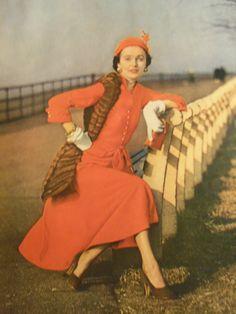 1948 fashion ad