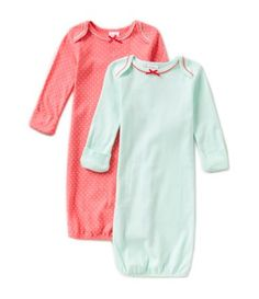 ef27b7742 Starting Out Newborn-6 Months 2-Pack Dotted Gowns #Dillards Dillards, Cold