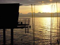 Hotel Palafitte Switzerland Destinations, Hotel, Europe, Celestial, Spaces, Building, Summer, Outdoor, Switzerland