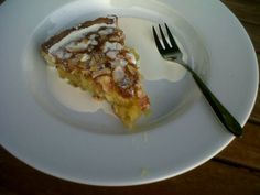 Emily's Recipes and Reviews | UK Food Blog | Leicestershire : lovely lemon and almond frangipane tart.