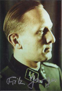 SS-Obersturmbannführer Fritz Darges