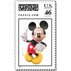 Mickey Mouse Club House Stamp