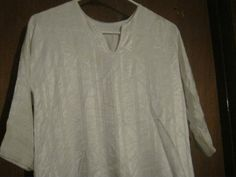 Children's Soft Ivory Tunic by AlessandraGoldKey on Etsy, $5.00