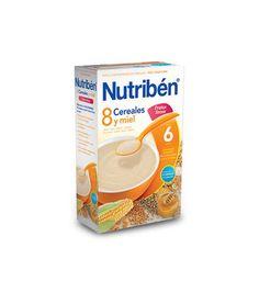 Nutriben 8 cereales y miel frutos secos