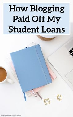 How Blogging Paid Off My Student Loans #blogging #studentloans #makeextramoney Make Money Blogging, Money Saving Tips, Make Money Online, Paying Off Student Loans, Student Loan Debt, Ways To Save Money, How To Make Money, What To Sell, Sell On Amazon