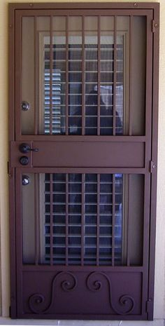 Security Screen Doors Archives - Whiting Iron and Great Gates in Phoenix AZ