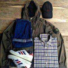 Away Days - adidas and Stone Island