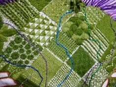 Stitches and Seeds: The Great Tapestry of Scotland Textile Art, Blackwork, Hand Stitching, Fiber Art, Brave, Needlework, Stitches, Scotland, Alphabet