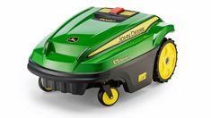 Best robot lawn mower robotic mowers to cut the grass as you chill - Modern Design Best Riding Lawn Mower, Garden Sprinklers, Lawn Maintenance, Honda S, Tech Toys, How To Make Light, Outdoor Power Equipment, Robot, Grass
