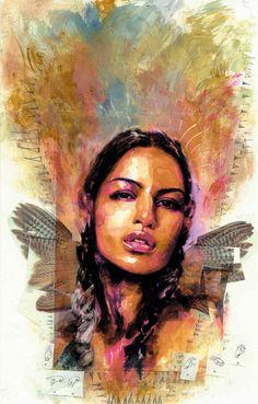Echo (Maya Lopez) by David Mack // Marvel Comics
