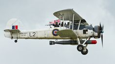 Fairey Swordfish II WW2 biplane - Royal Navy