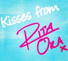 Mwah kisses from rita ora