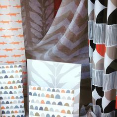 Spotted while out and about...#scion new collection #Lohko #stripeinteriors come and see