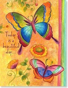 Birthday Card - Staff Pick - A Beautiful Day to Celebrate You | Sue Zipkin | 95309 | Leanin' Tree