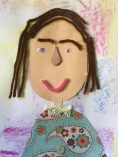 Mrs. Toney's Art Class: Texture Self Portraits