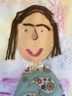 Mrs. Toney's Art Class: Texture Self Portraits