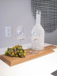 Simple kitchen accessories for staging  www.rentfluff.com