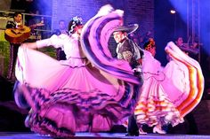 Mariachi Festival and colorful Mexican dancers