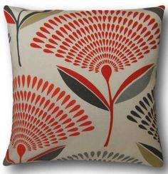 "Cushion Cover Made With Prestigious Dandelion Amber 14"" Orange Retro Scatter"