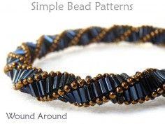 Bugle Bead Pattern DIY Beaded Bracelet & DIY Beaded Necklace Tutorial 2