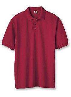 251724c2 Mega Shop | Hanes ComfortSoft Cotton Pique' Men's Polo Men Shirts, Polo  Shirts,