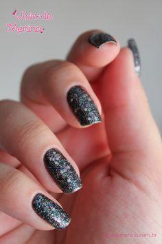 Glitter lindo! Nail