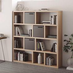 Office Room Design Home Oak Bookshelves, Bookshelf Plans, Bookshelf Design, Bookcase, Modern Bookshelf, Cheap Bedroom Furniture, Space Saving Furniture, Home Furniture, Furniture Design