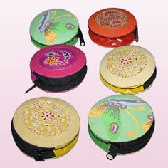 Round with zippers. #purses #accessories #coinpurse