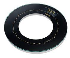 Beurer GS 38 Glaswaage, Design-Line, rund