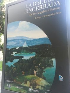 "Cartel Expo de ""La Belleza Encerrada"" del Prado Madrid. #Cartel #Affiche #Arterecord 2013 https://twitter.com/arterecord"