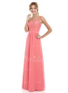 Bridesmaid Dresses -  150.54 - A-Line Princess One-Shoulder Floor-Length.  Designer Wedding DressesWedding GownsWedding ... 265b06280