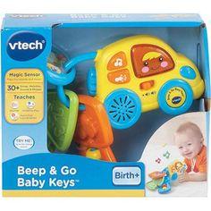 VTech Baby Line Beep & Go Baby Keys - Walmart.com