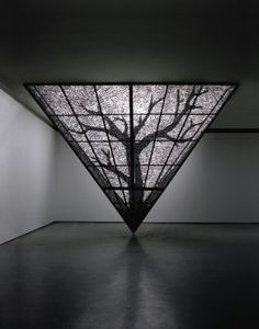Choi Taehoon Stainless steel, plasma cutting and HQ lighting.
