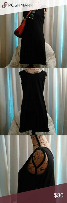 "Chadwicks Black Sleeveless Dress (NWOT) This classic cute sleeveless dress can go from day-to-night in an instant! Cool & comfortable 92% cotton & 8% span will take this dress from Spring to Summer! Sleeve opening is 6.5"", length is 33"". Soft scoop neck is perfect for that statement necklace. Pull on over your head & you are out the door! Never worn! Chadwicks Dresses Midi"