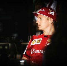 Kimi Raikkonen 2015 Singapore GP