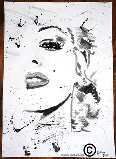 Monroe#action painting