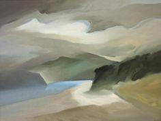 Toni Onley  (1928-2004)  Hornby island  1984