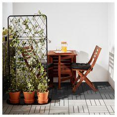 RUNNEN Floor decking, outdoor Grey - IKEA