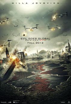 New Teaser Poster For 'Resident Evil Retribution'